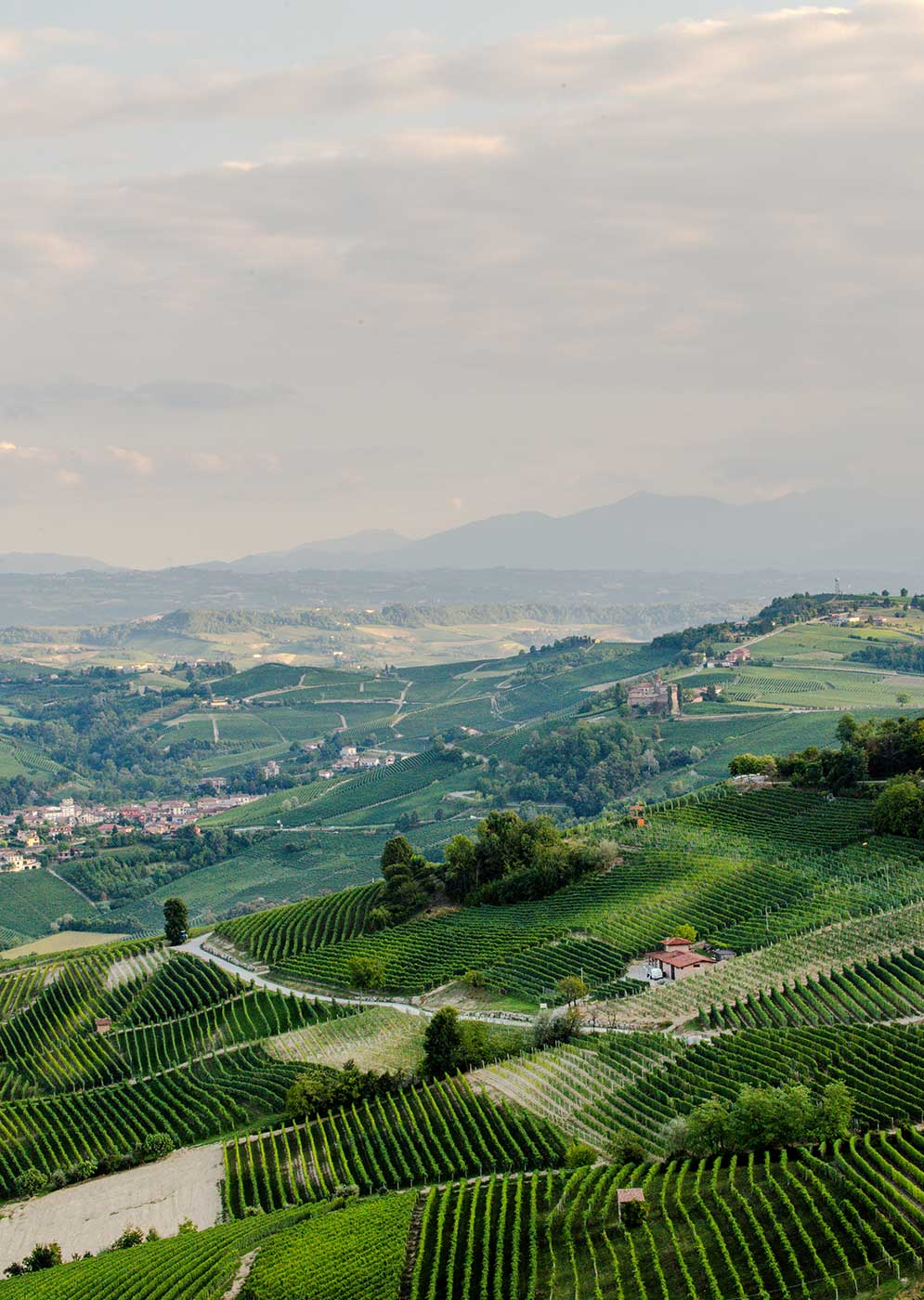 Hills and sky from Langhe