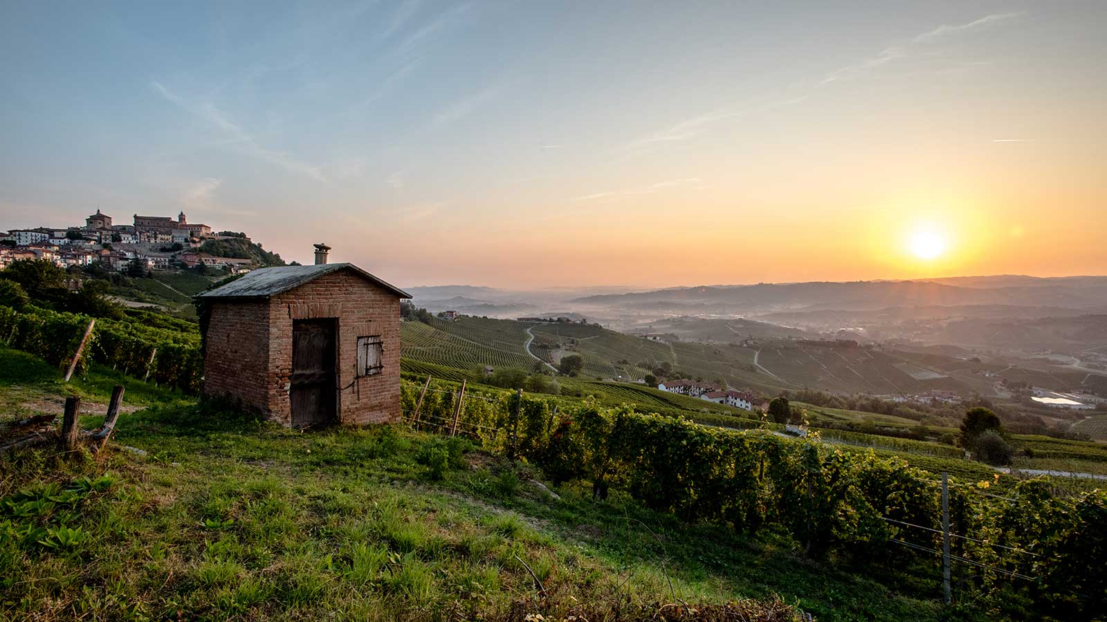 Sunset in Langhe